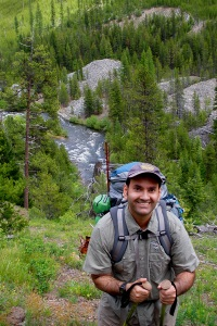 Michael Skourtes Backpacking