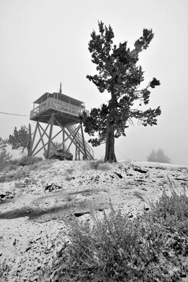 Fall Mountain Lookout Cabin | Eastern Oregon