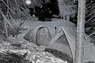Mazama Ridge Snow Camping