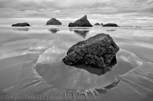 Bandon Oregon, Face Rock