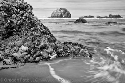 Bandon Oregon, Face Rock