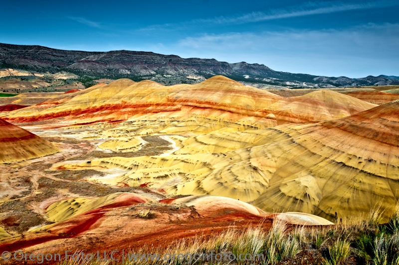 painted hills john day fossil beds oregon photo guide