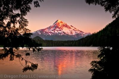 Mt. Hood at Lost Lake